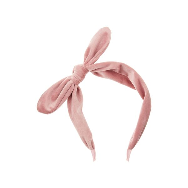 mimi and lula ivy headband in pink for toddler girls