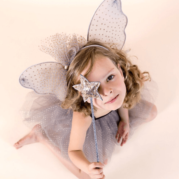mimi and lula sequin wand gold for play and dress up
