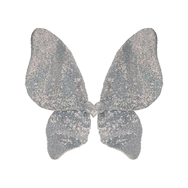 mimi & lula sparkle sequin wings in gold and silver