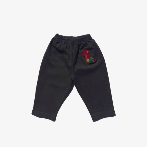 mimico rainbow dino pants for toddler boys
