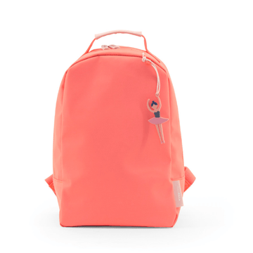 mini backpack in neon pink