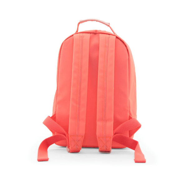 mini backpack in neon pink waterproof zippers