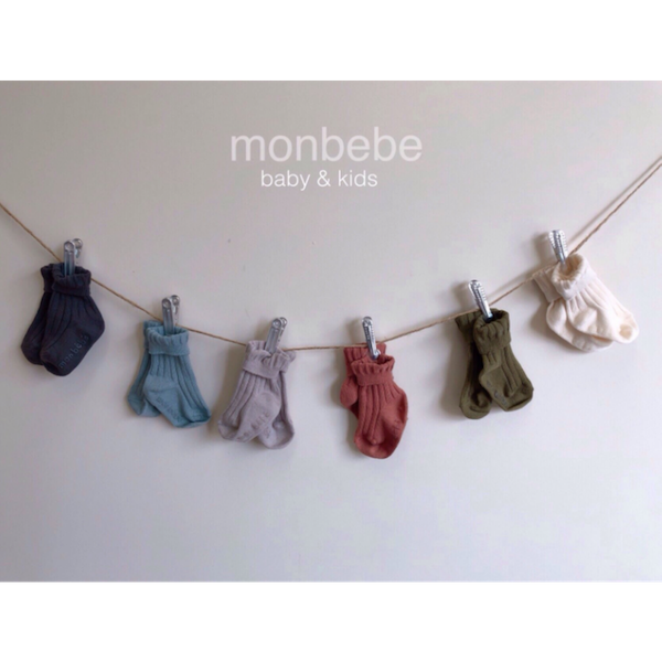monbebe natural socks set