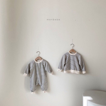 monbebe noah stripe sweater for toddlers