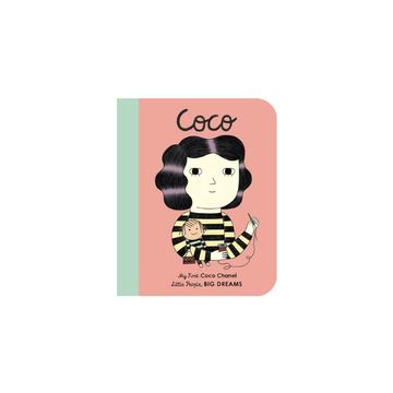 my first little people, big dreams board book coco chanel