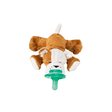 Paci-plushies shakies, barkley bull dog