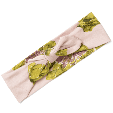 organic cotton headband, artichoke