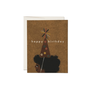 party hat birthday card
