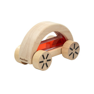 plant toys wooden wautomobile red