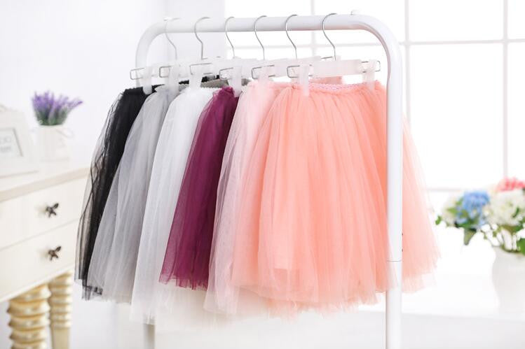 soft tulle skirt for toddler girl