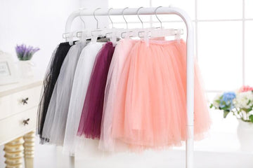 soft tulle skirt for girls