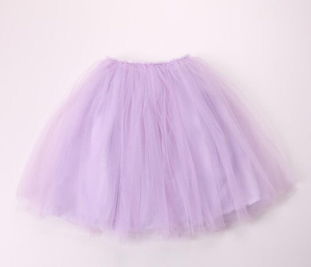 soft tulle skirt for toddler girls