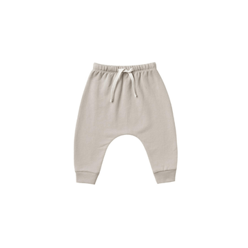 Organic Fleece Sweatpants, Fog