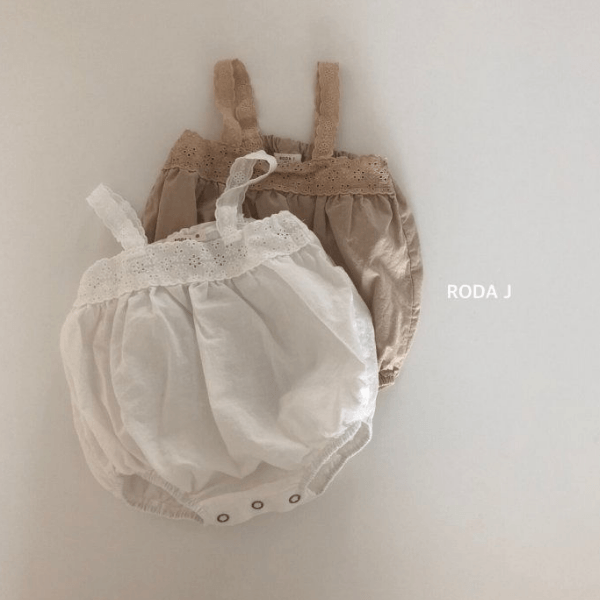 roda j cotton romper for baby girls
