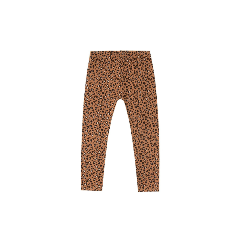 rylee and cru cheetah legging, bronze