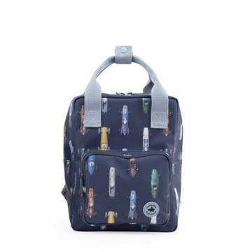 studio ditte race car backpack from recycled materials