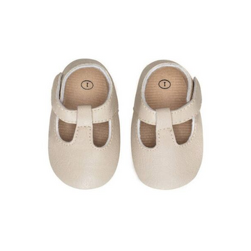 sweet n swag moxy baby shoe in alabaster white