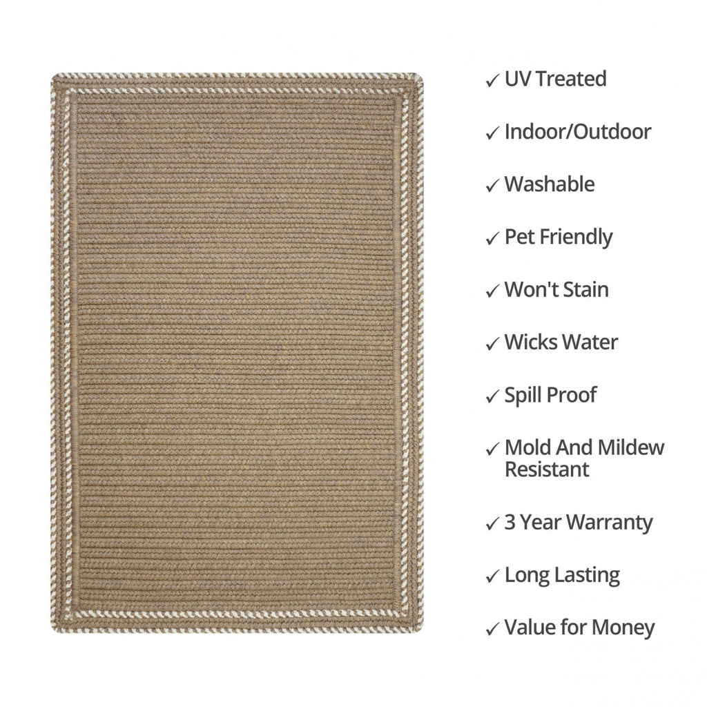 Horizon Ultra Durable Taupe Rug