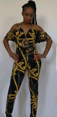 477e62b0979 Came through Drippin Jumpsuit