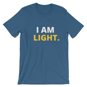 I AM LIGHT Short-Sleeve Unisex T-Shirt