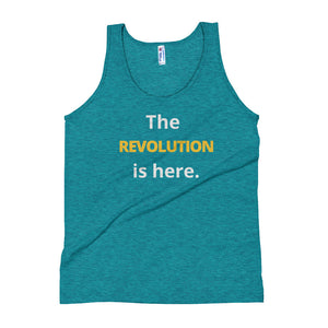 The REVOLUTION is here. Unisex Tank Top