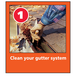 Clean your gutter