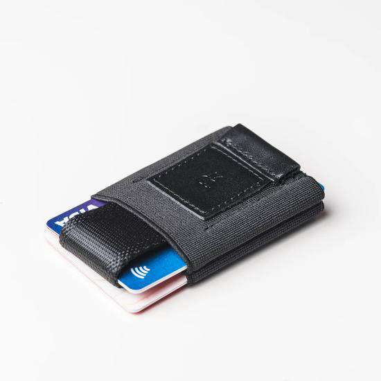 The Easy Slim Wallet | Total Black