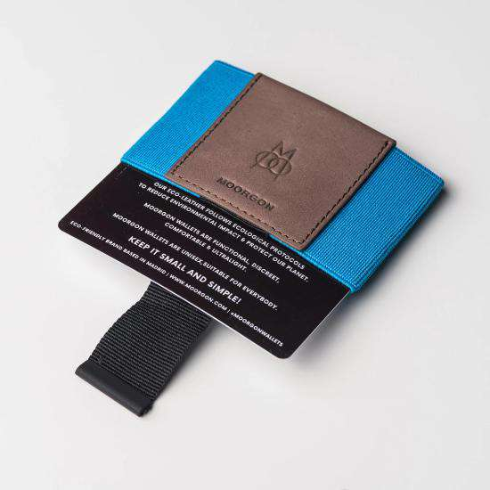 Cartera Minimalista | The Card Case Wallet  | Washed Blue