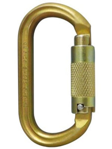 ISC Offset Oval Keylock Carabiner 40kN