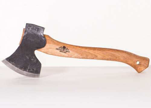 475-3 Large Swedish Carving Axe (Grinded Right Side)