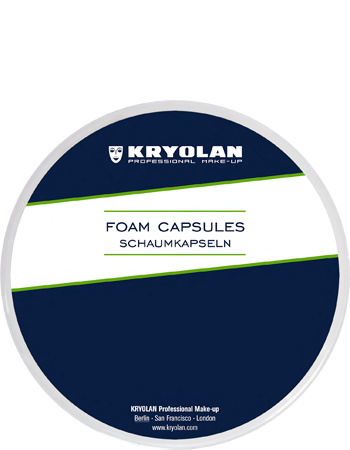 Kryolan Foam Capsules - Precious About Make-up, (product_title),SFX, KRYOLAN