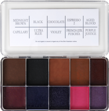 PPI Skin Illustrator 12 Years A Slave Palette - Precious About Make-up