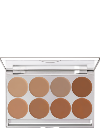 Kryolan Dermacolour Light Foundation Cream Palette 8 Colour (ART.70108) - Precious About Make-up