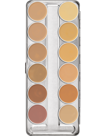 Kryolan Camouflage Cr̬eme Palette - Precious About Make-up, (product_title),Make Up, KRYOLAN