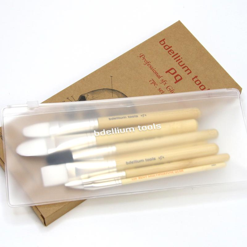 Bdellium SFX Glue Brush 7 pc set - Precious About Make-up, (product_title),, Bdellium