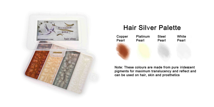 Bluebird-Silver-Hair-Palette - Precious About Make-up, (product_title),SFX, Bluebird