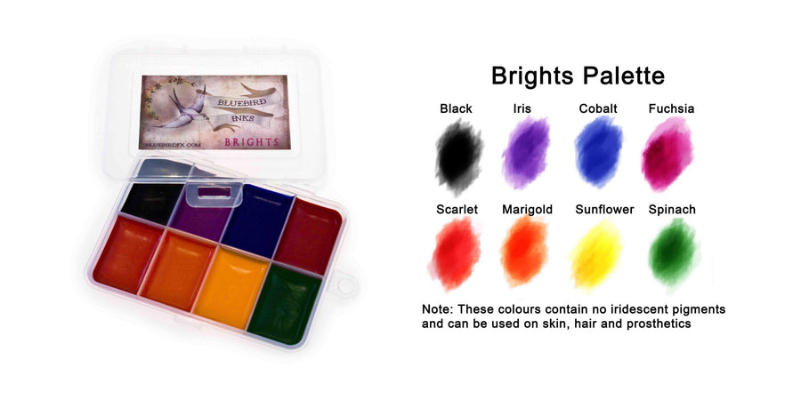 Bluebird Brights Palette - Precious About Make-up