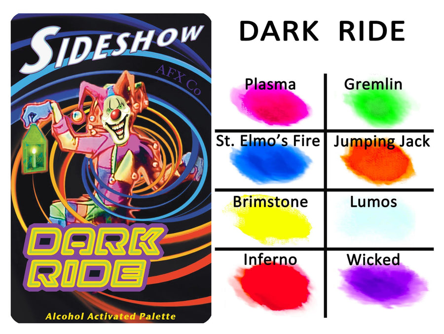 Sideshow - Dark Ride Palette - Precious About Make-up, (product_title),Alcohol Palette, AFX
