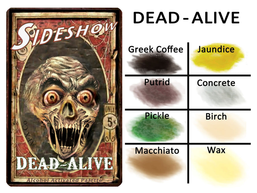 Sideshow - Dead Alive Palette - Precious About Make-up, (product_title),Alcohol Palette, AFX