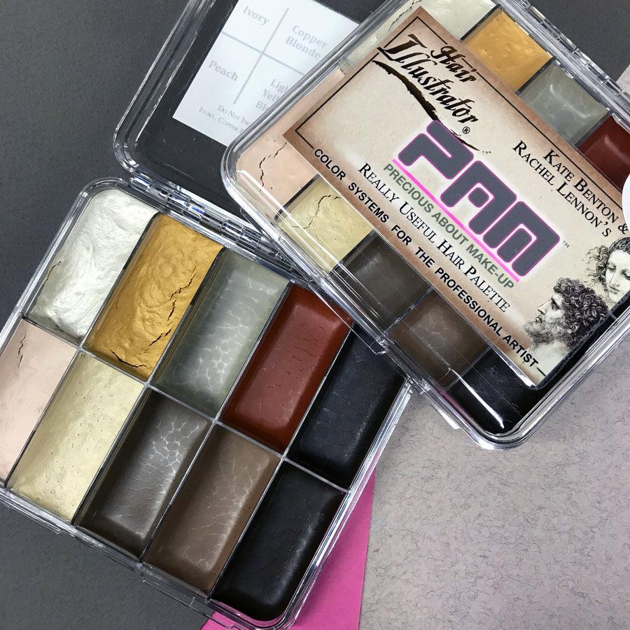 PPI Hair Illustrator PAM On Set Really Useful Hair Palette - Precious About Make-up, (product_title),Alcohol Palette, PPI