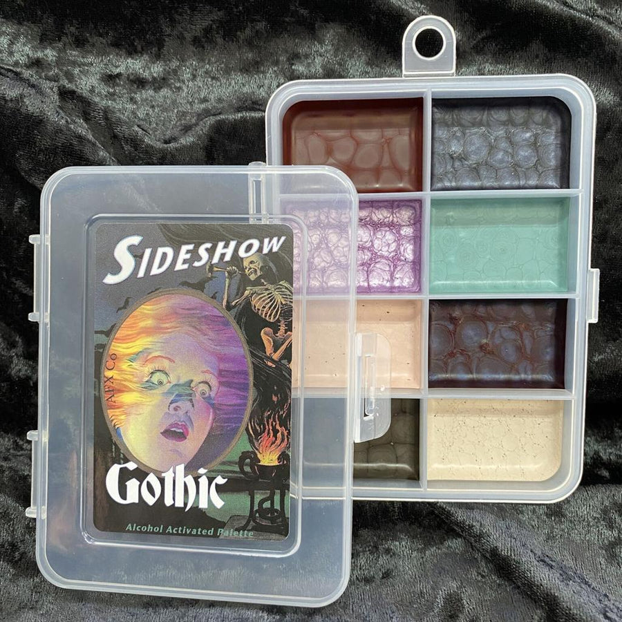 Sideshow - Gothic Palette - Precious About Make-up, (product_title),Alcohol Palette, AFX