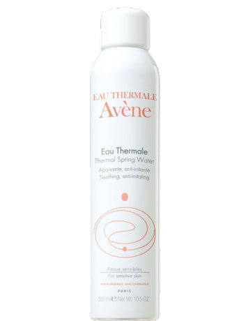 Avene Thermal Water Spray provides pure, natural relief for sensitive skin. Provides essential soothing care daily. Preserved in its pure state from the spring to the skin, Avène Thermal Spring Water soothes and enhances all skin types, even the most sensitive.