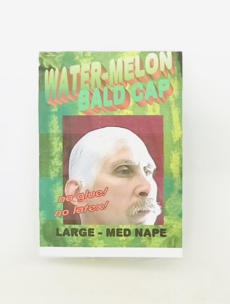 Water-Melon Bald Cap - Large to Med Nape