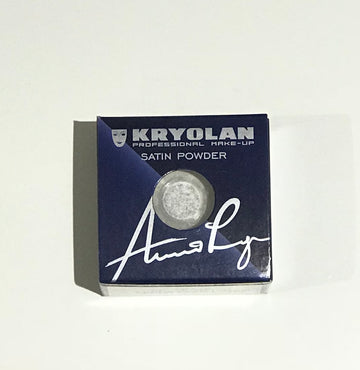 Kryolan - Satin Powder, Silver Pearl