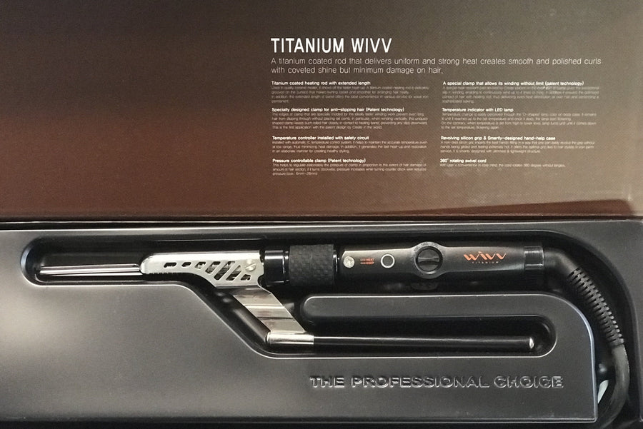 WIVV Titanium Electric Tongs - Precious About Make-up, (product_title),Hair, Create Professional
