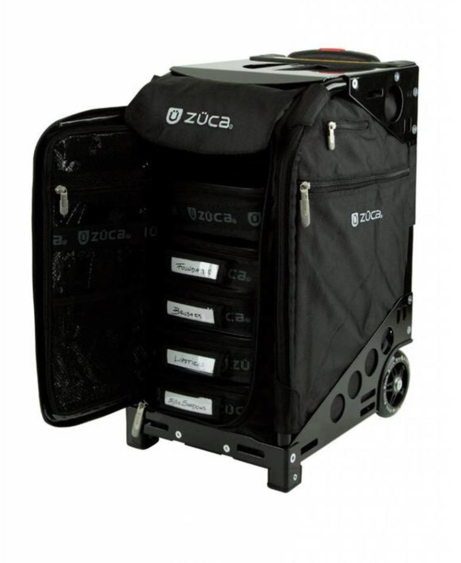 ZUCA - Pro Artist Black/Black - Precious About Make-up, (product_title),Bags, Zuca