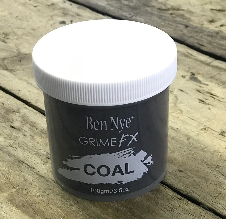 Ben Nye Grime FX Powders  Loose coloured special effects powder. Apply to distressed skin, prosthetics, hair and costumes. Available in various different sizes:  - 25g / 0.9oz  - 100g / 3.5oz  - 150g / 5.4oz  - 170g / 6oz  - 300g / 10.5oz