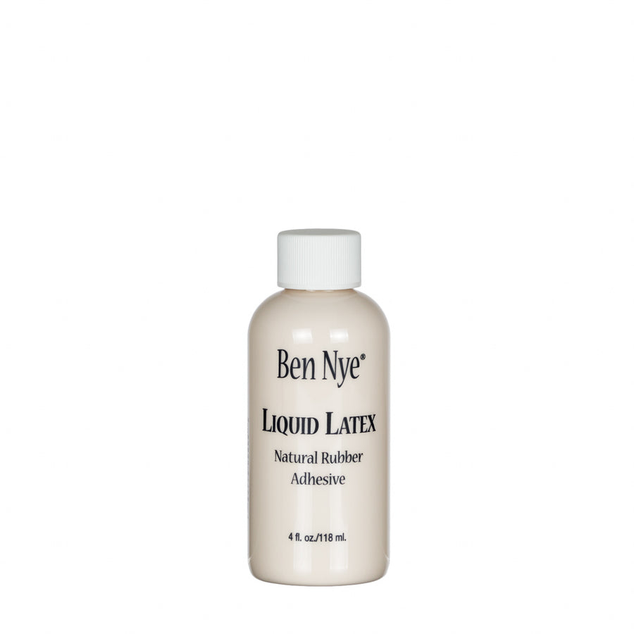 Ben Nye Liquid Latex, Natural Rubber Adhesive with a pinky, skin tint. Versatile must have in your SFX kit! Create aged, blister and wound effects. Seal waxes, or fill your own slush molds.