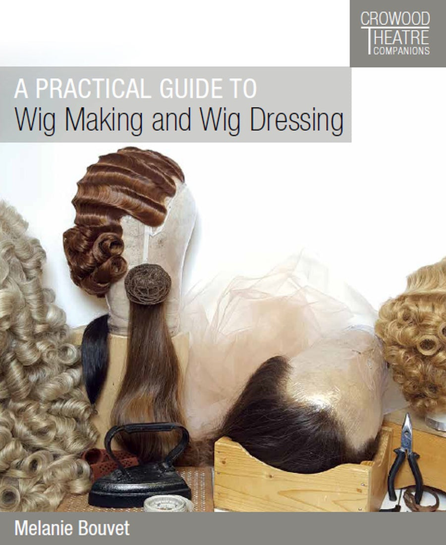 A Practical Guide to Wig Making and Wig Dressing - By Melanie Bouvet - Precious About Make-up, (product_title),Book, Precious About Make-up
