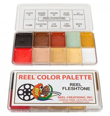 Reel Creations - Reel Fleshtone Palette - Precious About Make-up, (product_title),SFX, Reel Creations